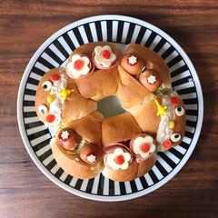 パン好き/ランチ/サンドイッチ/ごはん/子どもが喜ぶ/かわいい/... お昼ごはん。 新発売のpascoのゆめち…(2枚目)