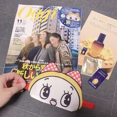 付録/サンプル/ロクシタン/かわいい/ドラミちゃん/アイマスク/... ojjiの11月号の付録 大人な雑誌にし…