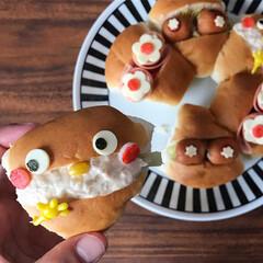 パン好き/ランチ/サンドイッチ/ごはん/子どもが喜ぶ/かわいい/... お昼ごはん。 新発売のpascoのゆめち…(3枚目)