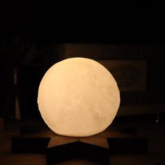 LEDライト/シンプル/海外インテリア/フォロー大歓迎/100均インテリア/リミアな暮らし/... 先程はご紹介したライト…こんな感じでライ…