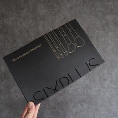 SIXPLUS 限定版 魅力のコーヒー色 メイクブラシ 15本セット(メイクブラシ)を使ったクチコミ「お気に入りのSIXPLUSのメイクブラシ…」