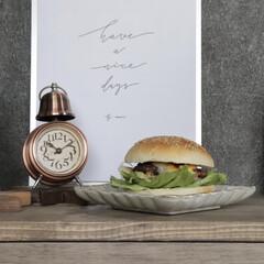 目覚まし時計 アンティーク レトロ おしゃれ 目覚し時計 アナログ ベル 置き時計 アラームクロック 新生活(目覚まし時計)を使ったクチコミ「セリアのお皿、めちゃくちゃ好きでよく買い…」