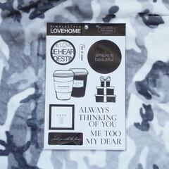 100均/雑貨/キャンドゥ/ウォールシール/ポスター/簡単DIY/... キャンドゥとLOVE HOMEのマリさん…