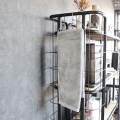 タオル掛け/タオル収納/便利アイテム/リミアな暮らし/セリア/100均/... セリアで見つけたステンレス製のタオル掛け…