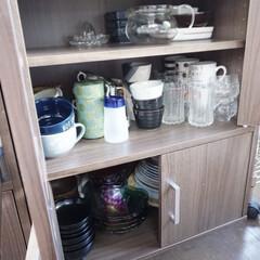 食器/食器棚収納/食器棚/フォロー大歓迎/カップボード収納/楽天市場/... 収納改善をした直後は、日頃使わない食器は…