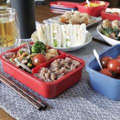 おうちランチ/おうち時間/お弁当/キッチン雑貨/おうちごはん/ランチ/... おうちでピクニック! 今外出自粛期間中な…