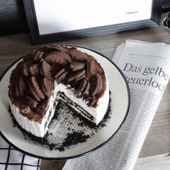 オレオチーズケーキ/セリア/おうちカフェ/キャンドゥ/3COINS/スリーコインズ/... 話題のオレオチーズケーキ作ってみた! 簡…
