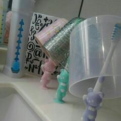 歯ブラシ/みずまわり うがいコップをぬるぬるさせない