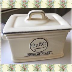 バターケース/雑貨/フード カルピスバターを買ったので、それに合わせ…