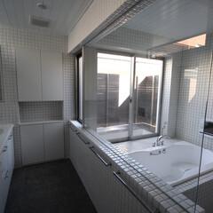 ジェットバス/タイル張り/浴室・風呂/建築