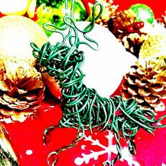 手作り/クリスマスディスプレイ/クリスマス雑貨/クリスマスインテリア/クリスマス/フォロー大歓迎/... クリスマス近づいてきましたね~✨✨娘がワ…