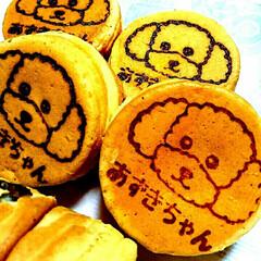 デザート/フォロー大歓迎/おでかけ/グルメ/フード/スイーツ 青森で昔から有名な浅草焼。(おやき)あん…