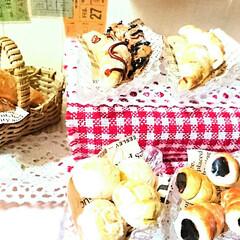 ハンドメイド/ミニチュアパン/ミニチュアフード/ミニチュアパン屋さん/ミニチュア/DIY/... 娘がミニチュアパン屋さんを製作中ヽ(*´…(4枚目)