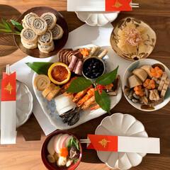 おせち料理/ワンプレート/お節/おせち/お正月2020/暮らし 2日の朝はワンプレートに。