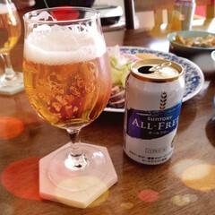 オールフリー 350ml缶×24本サントリー | オールフリー(ノンアルコールビール)を使ったクチコミ「🎍明けましておめでとうございます❣  地…」