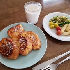 キッコーマン 調製豆乳1L ×6個(その他ソフトドリンク)を使ったクチコミ「こんにちは🌥️ 今日はお仕事休んでます😁…」