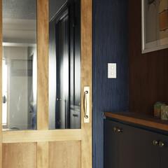 ドア オリジナルの木製ドア