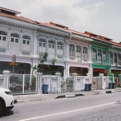 カラフル/お家/街並み/海外旅行/シンガポール/風景/... 街並みが可愛いシンガポールのカトン🇸🇬 …