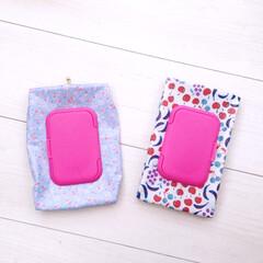 ピンク色/ピンク/ビダット/ラミネート/育児用品/お尻拭き/... ✴︎ビダット付きラミネートお尻拭きケース…