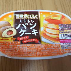 おやつ 今日のおやつ…パンケーキというか…⁉️ …(1枚目)