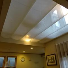 吹抜け/吹き抜け/吹抜/クーラー/エアコン/暑さ対策/... 冷暖房対策にオリジナルの天幕をお作りしま…