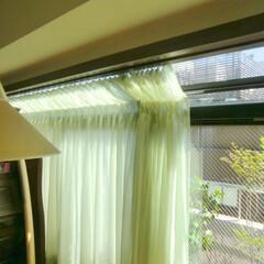 傾斜窓/出窓/レース/レースカーテン 詳しくは社長ブログをご覧ください。 写真…