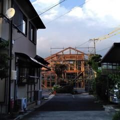 木組の家/木の家/上棟/骨組み/工務店/注文住宅/... 木組の家 上棟しました。
