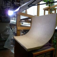 撮影ブース 小物用の撮影ブースです。屋根裏に収納して…