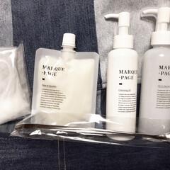 MARQUE-PAGE マルクパージュ クレンジング・洗顔・美容保湿ゲル 3セット | MARQUE-PAGE(スキンケアトライアルセット)を使ったクチコミ「マルクパージュのモニター当選しました🤗 …」