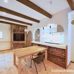 ナチュラルインテリア/健康住宅/自然素材の家/手塗り壁/天然木/フレンチハウス/... 天然木と手塗り壁のやさしさがいっぱいのオ…