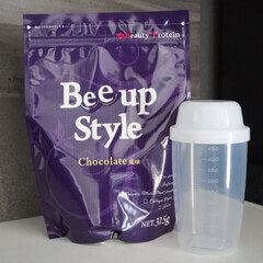 Bee up Style Chocolate風味 | Bee up Style(ソイプロテイン)を使ったクチコミ「新ボディーメイクプロテイン Bee Up…」