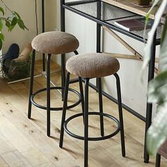 家具/インテリア/カウンターチェア/カフェ さらさらとした肌触りが特徴のコーデュロイ…