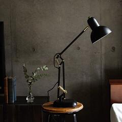 インテリア/照明/ヴィンテージ/ビンテージ/デスクランプ/カフェ/... コロンとしたやわらかい北欧テイストのフォ…