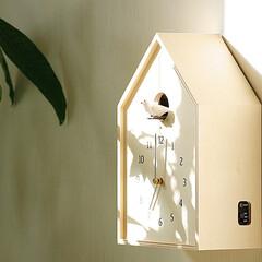 インテリア/北欧/家具/時計/ナチュラル/子供部屋/... 巣箱のような遊び心があるタカタレムノス社…