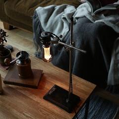 家具/インテリア/間接照明/照明/デスクライト/テーブルランプ 理科の授業などで使われる試験管を熱するた…