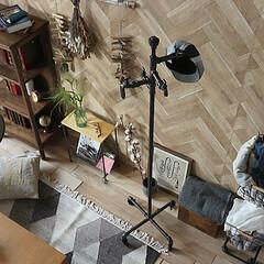 インテリア/家具/ポールハンガー/インダストリアル/ヴィンテージ/ワンルーム まるで工業製品のような重厚さを感じ、日常…