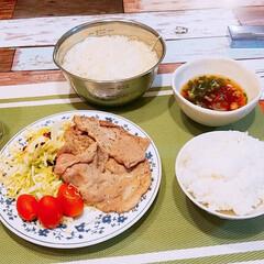 肉/そーめん/男めし/おうちごはん usakuruさんの投稿をみて そーめん…