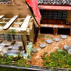 てっちゃんDIY/てっちゃんワールド/ダンボールで夢を叶える/ジブリ大好きおじさん/完成/さつきとメイの家/... ついに完成しました。😊👍 草壁家【さつき…(2枚目)