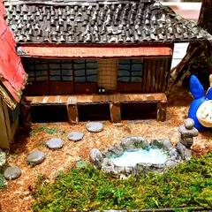 てっちゃんDIY/てっちゃんワールド/ダンボールで夢を叶える/ジブリ大好きおじさん/完成/さつきとメイの家/... ついに完成しました。😊👍 草壁家【さつき…(6枚目)