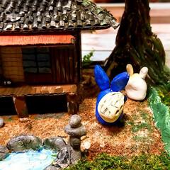 てっちゃんDIY/てっちゃんワールド/ダンボールで夢を叶える/ジブリ大好きおじさん/完成/さつきとメイの家/... ついに完成しました。😊👍 草壁家【さつき…(3枚目)