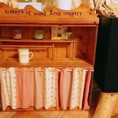 カントリー調/手作りラック/自家製インテリア/DIY/雑貨/家具/... 昔作った飾り棚😉 カントリー風🔨🎶🎻