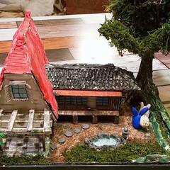 てっちゃんDIY/てっちゃんワールド/ダンボールで夢を叶える/ジブリ大好きおじさん/完成/さつきとメイの家/... ついに完成しました。😊👍 草壁家【さつき…(7枚目)