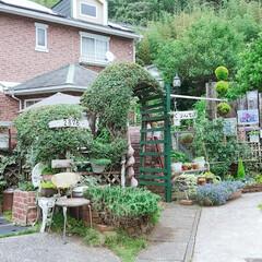 すっきり/完了/草むしり/剪定/住まい 今日は1日、庭の手入れしてました。👋😃💦…