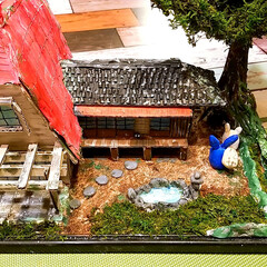 てっちゃんDIY/てっちゃんワールド/ダンボールで夢を叶える/ジブリ大好きおじさん/完成/さつきとメイの家/... ついに完成しました。😊👍 草壁家【さつき…(5枚目)