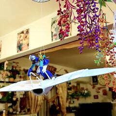 ネオンカラーインテリア/kitchen/手作り棚/風の谷のナウシカ/クリスマスインテリア/キッチン雑貨/... ライトONでKitchenクリスマス仕様…(3枚目)