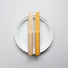 カトラリー/バターナイフ/フルスイング/日用品 丸棒を削ったシンプルなバターナイフ。 丸…