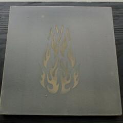 タイル/テラコッタ アートタイル試作。 粘土板に土でファイヤ…