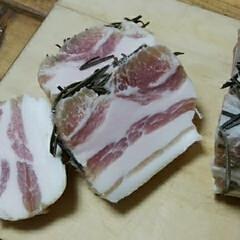 熟成肉/パンチェッタ/スローライフ/暮らし/リミアな暮らし パンチェッタ作りましたー。