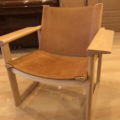 椅子/リビングあるある 10年前に購入した椅子。革張りで座り心地…