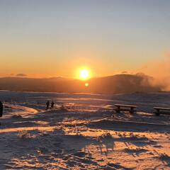風景/日の出/キッチン雑貨 長野県美ヶ原高原の日の出です。素晴らしい…